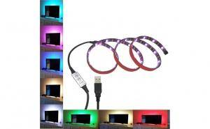 Banda Led TV, 1m, RGB, IP65