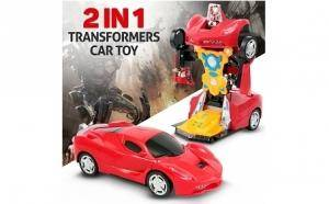 Masina robot 2 in 1 transformers