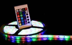 Banda LED multicolora de 5 metri plus