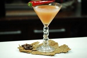 Spice Chocolate Martini
