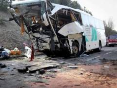 Un autocar cu romani, implicat intr-un accident grav in Bulgaria