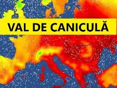 Revine canicula in Romania. Temperaturi sufocante