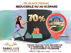 Trei weekend-uri de super reduceri la ParkLake Shopping Center