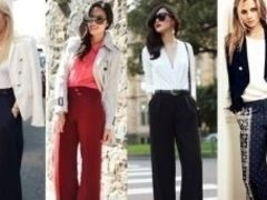 Pantalonii largi sunt in tendinte! 7 tinute care te vor inspira!