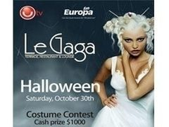 Le Gaga Halloween Party! Cash prize $1000!