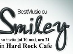 SMILEY concerteaza pe 10 mai in Hard Rock Cafe din Bucuresti