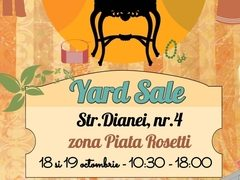 YARD SALE de Octombrie. Shopping la pret de chilipir