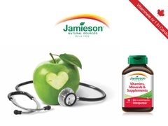 Jamieson, vitaminele numarul 1 in Canada, disponibile in Romania!