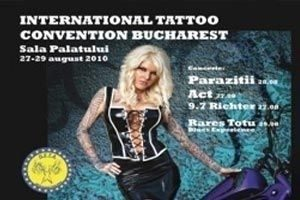 """International Tattoo Convention Bucharest"" la Sala Palatului din Bucuresti"