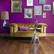 Violetul in decoratiuni