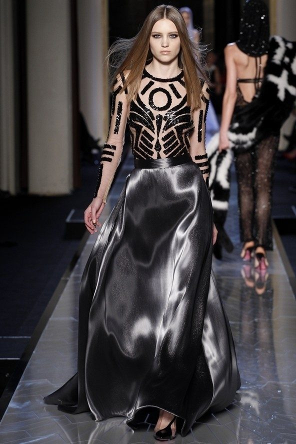 Versace Couture Fashion Week